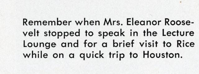 Eleanor Roosevelt 1955 campanile 2