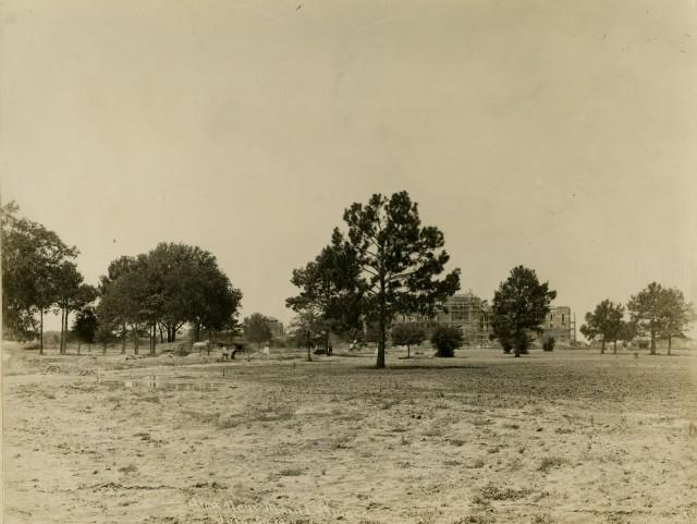 Lovett front scaffolding July 30 1912