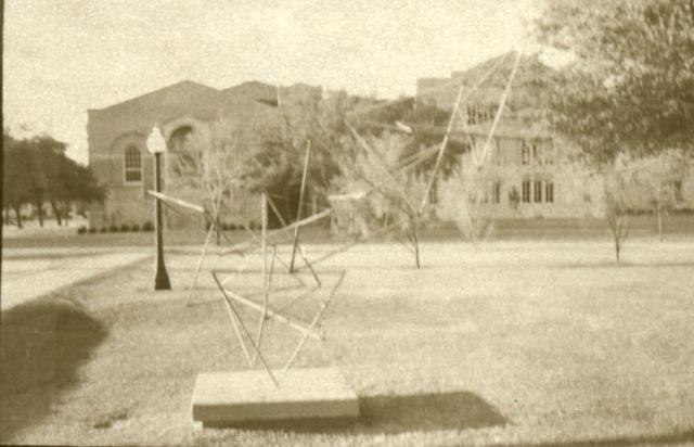 Semicentennial sculpture