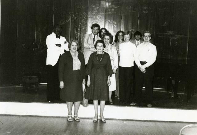 Shepherd School partial faculty 1983