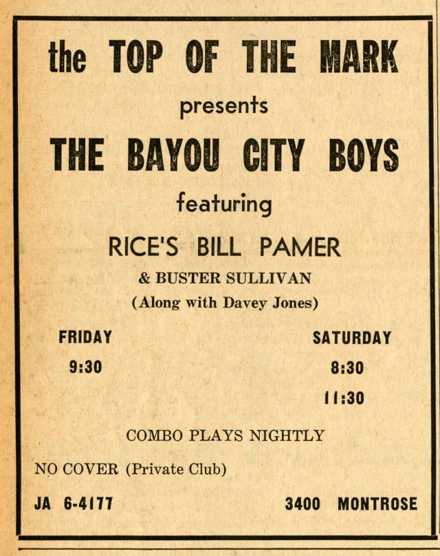 Banjo November 20 1963