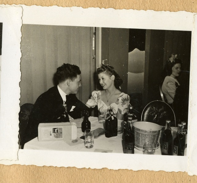 OWLS couple at party 1942