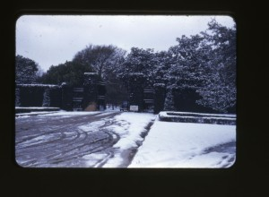 JI Davies Christmas 1948 gate