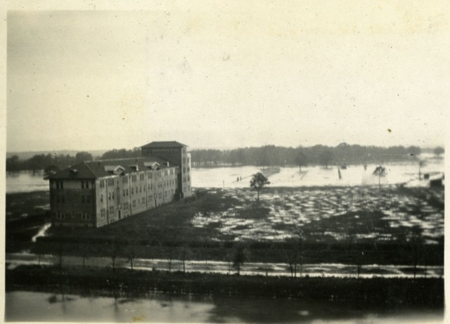RI scrapbook campus flood March 1922 2