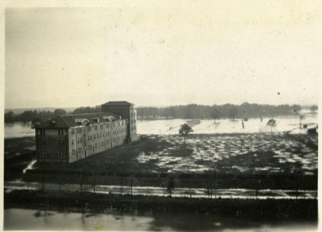 RI scrapbook campus flood March 1922 2