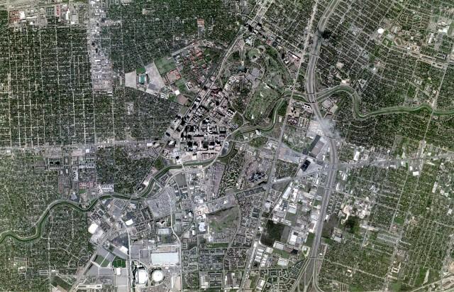New aerial circa 2002