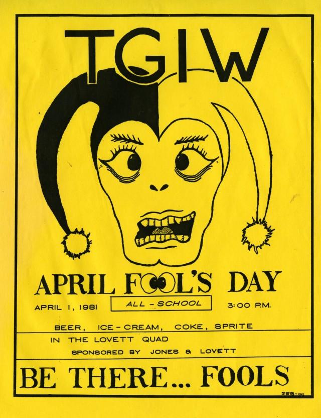 April Fools TG 1981