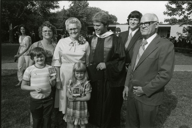 new commencement family c late 70s