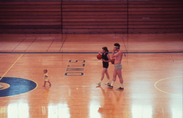 New toddler in gym 1976 slide collection