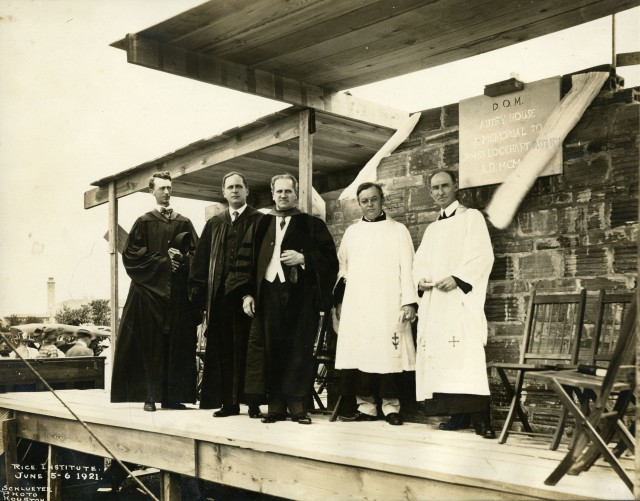 New Autry House dedication 1921