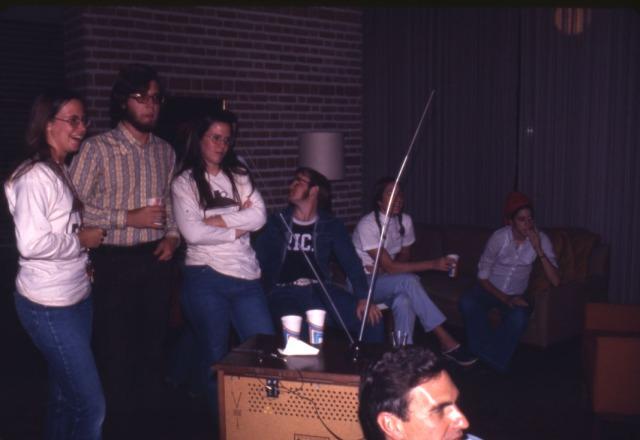 New Brown College Dec 1973 obsolete technology