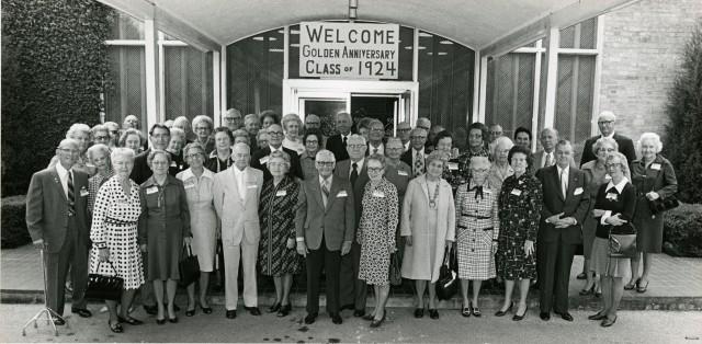New Golden Anniversary class of 1924
