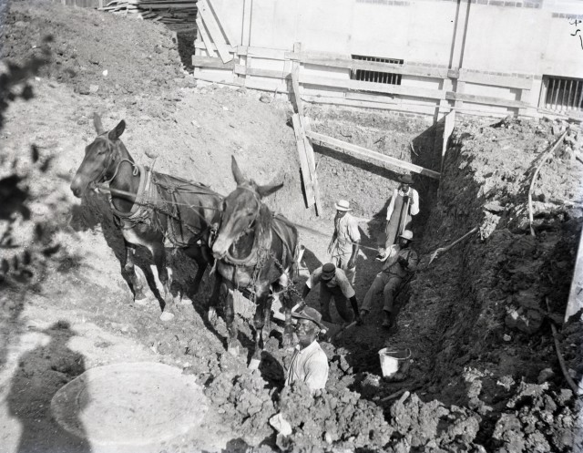 New mules physics tunnel WWW 3 85 July 16 1914