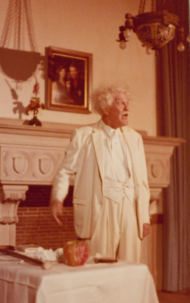 JD Thomas as Twain Baker late70s