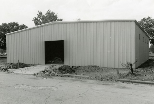 New flammable storage building Oct 82
