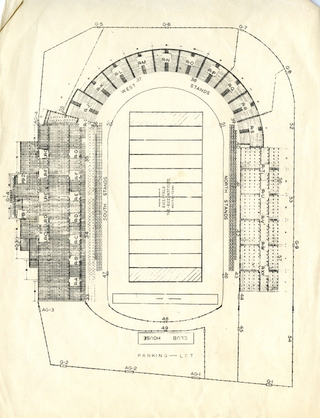Stadium old drawing 1937