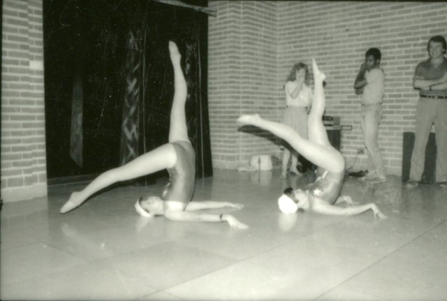 Art show with legs c1985 060
