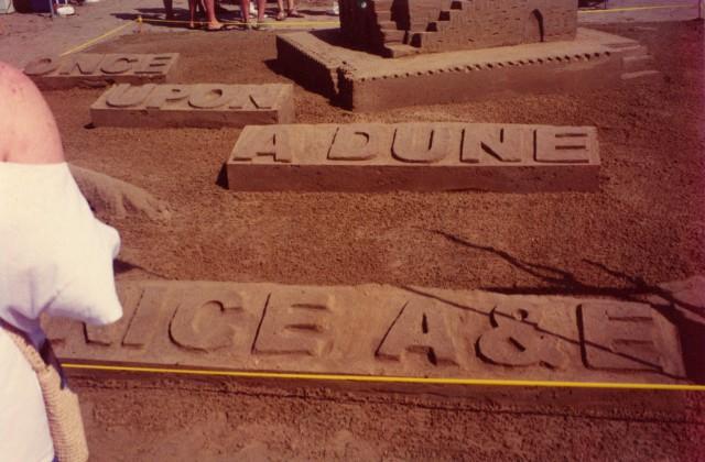 New Fand E sandcastle 2
