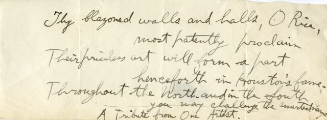 Thy blazoned walls nd but c1916 GCE in Huxleys papers 045