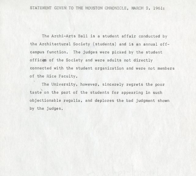 Archiarts press release March 1961 045
