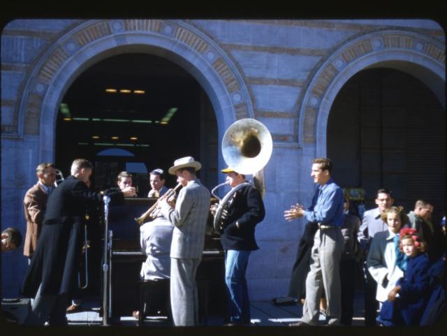 New Morehead slide Homecoming 1951