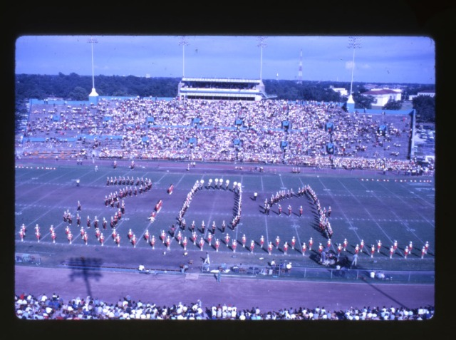 New Old Rice stadium south stands c late 40s