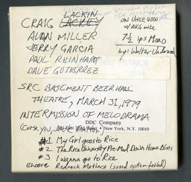 Beer Hall tape 1979045