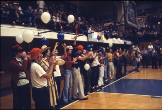 Clown night Rice UT basketball 1979 1 UA155 170 4 059
