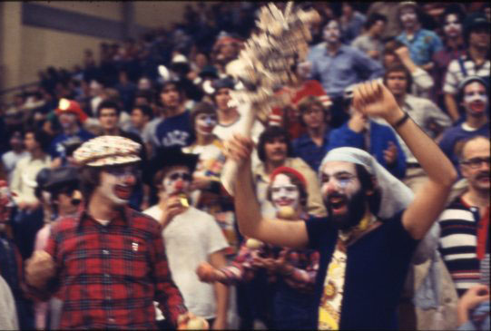 Clown night Rice UT basketball 1979 2 UA155 170 4 060