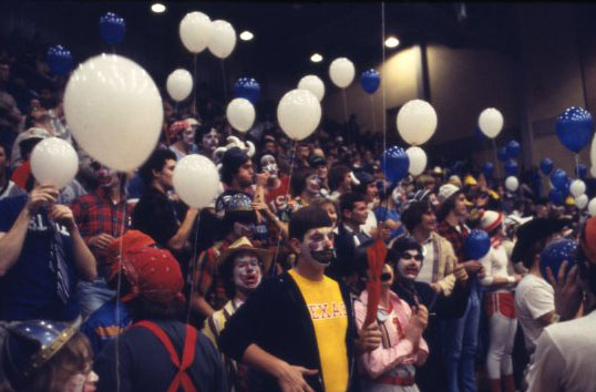 Clown night Rice UT basketball 1979 3 UA155 170 4 061