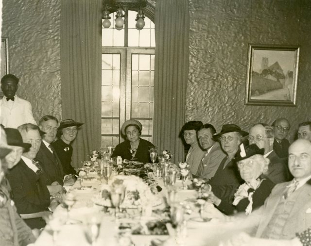 Cohen House Papers Mrs Cohens 80th birthday luncheon Cohen House 1937 072