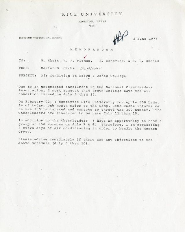 Cheerleaders Mormons 1977 RHP Papers 2 2 045