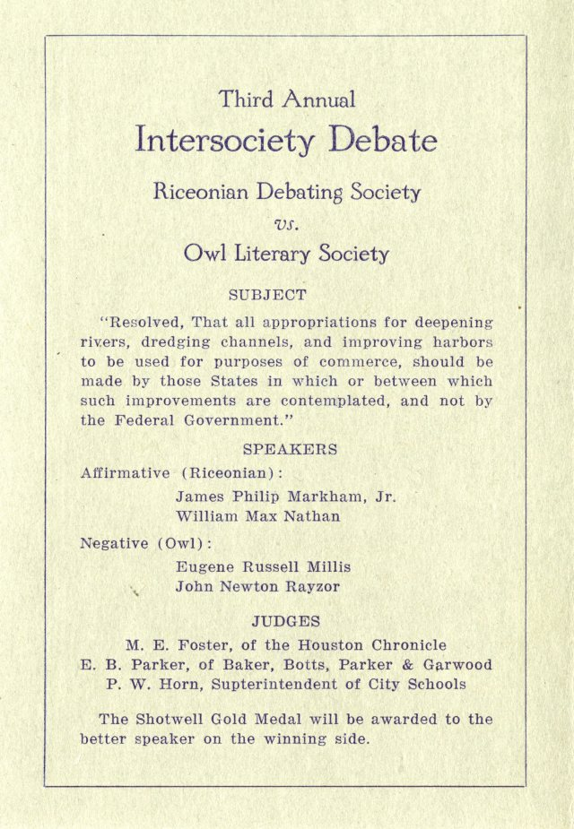 Literary societies 1916 2 046