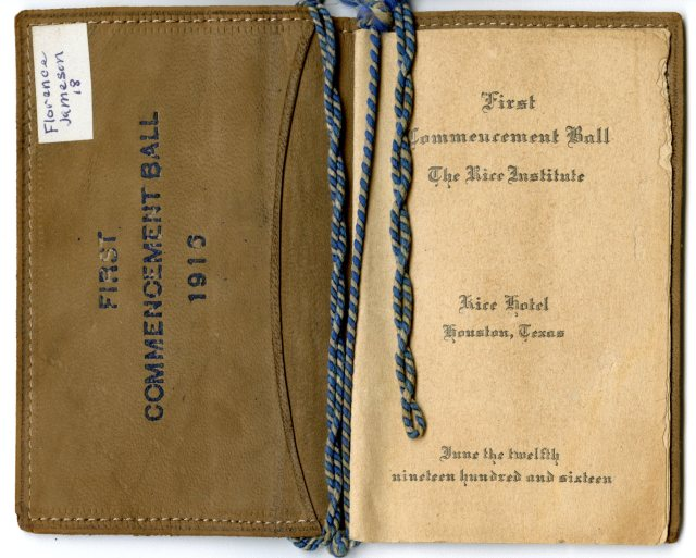 First commencement ball program   053