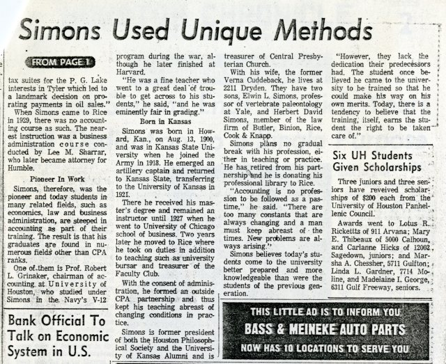 Verne Simons chronicle article 2 047