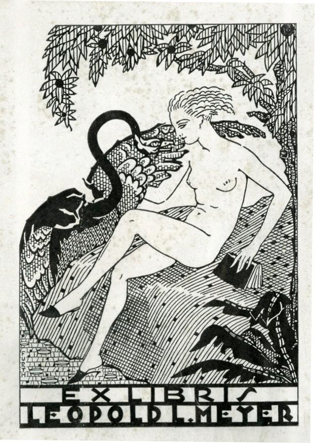 Leopold Meyer bookplate 049