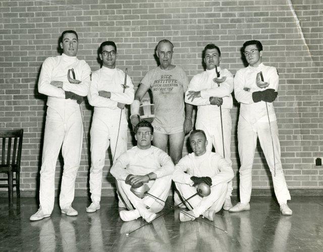 Fencing 1956 Coach harold vanbuskirk 048