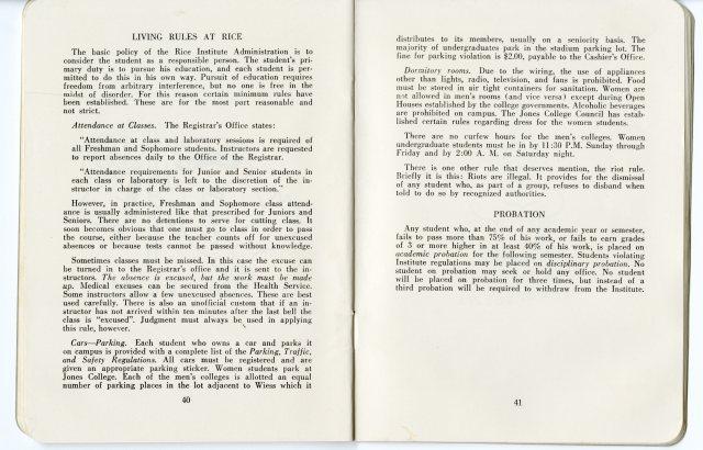 Student Handbook fall 1958 4 052