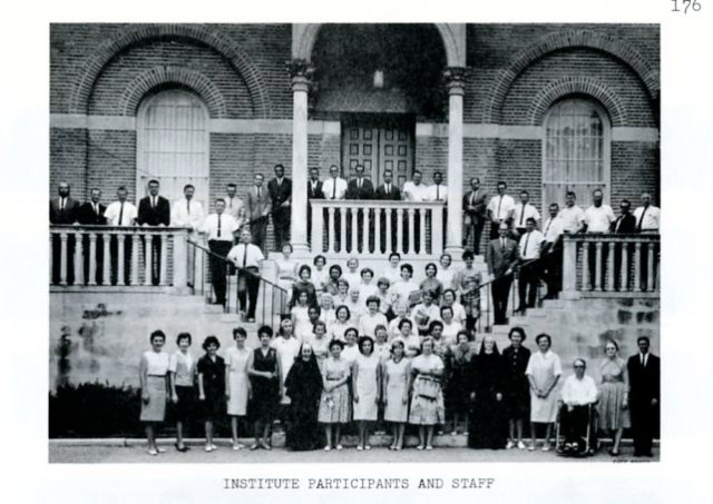 Summer Spanish Institute 1964 2 052
