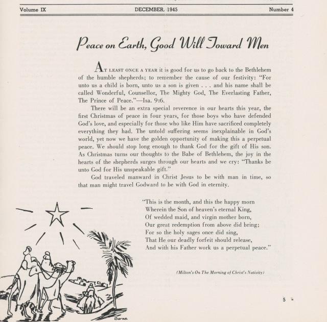 Owl Christmas 1945 1